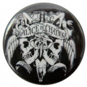 Alice in Chains - 'Logo' Button Badge
